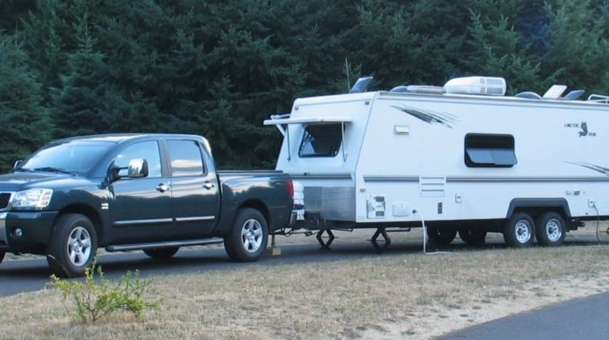 Assistance For Towing a Used Alumunium Car Trailer Making Use of Your New Nissan