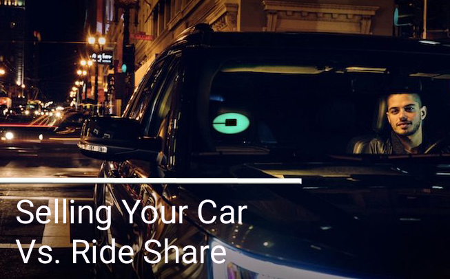 Selling Your Car Vs. Ride Share